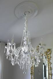 old crystal chandelier palm beach sparkles with a thrifty cleaner spray