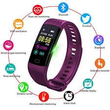 Fitness Trackers,<b>LIGE</b> Outdoor <b>Sports Smart</b> Bracelet Color Screen
