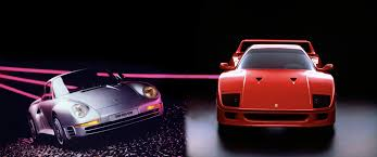 F40 stands third in the timeline. The Most Exciting Supercar In The World Versus The Greatest Head To Head In The Ferrari F40 And Porsche 959 Hagerty Uk