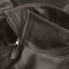 men s horsehide roadster jacket
