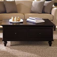 full size of black wooden coffee table with drawers small drawer glass tables storage great ideas
