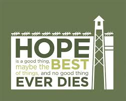 best the shawshank redemption images shawshank  shawshank redemption inspired art print hope quote by aandzdesign