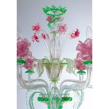 italian flower chandelier circa from 1990