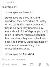 Beautiful Brown Eyes Quotes Best of Image About Love In Quotes By Anna On We Heart It