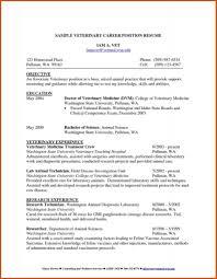 Veterinary Technician Resume Veterinary Technician Resume Creative Resume Ideas 20