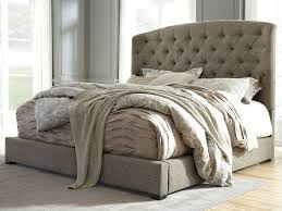 diy upholstered bed. Diy Upholstered Headboard King Bed Tufted Size Uk Signature Design By Ashley Gerlane With