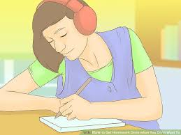 how to get homework done when you don t want to pictures  image titled get homework done when you don t want to step 7