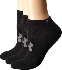 Under Armour Women S Heatgear No Show Socks 3 Pack