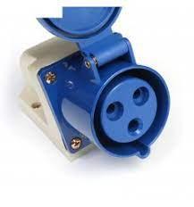 Силовые вилки (штепсельные разъемы) для генераторов, однофазные и  трехфазные - ENERGY-EK