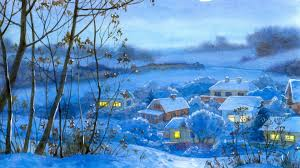 The rise of cobra wallpaper. Download Wallpaper 1920x1080 Painting Winter Village Home Night Month Snow Full Hd Hdtv Fhd 1080p Hd Background