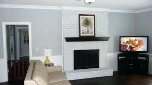 white brick fireplace white brick fireplace with reclaimed wood mantel white brick fireplace brick fireplace wood mantel