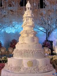 Elegant Fancy Wedding Cake Designs Strangest Wedding Cakes Pictures Extravagant Wedding