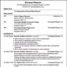 free resume builders