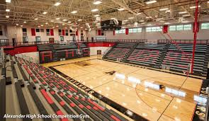 high school gym. Project Spotlight: Alexander High School Competition Gymnasium Unites Community Gym