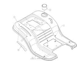 Mtd 13b2775s000 2016 parts diagram for fender