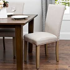 dining room chairs. Oatmeal Linen Parsons Chair Dining Room Chairs O