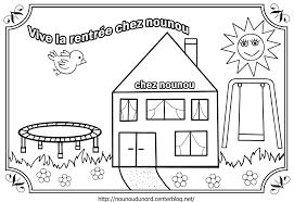 Dessin Maison Maternelle Maison Moderne