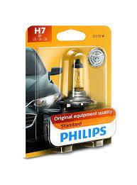 H7 12972 WVS2-Bóng đèn pha ôtô/ xe hơi Philips Halogen H7 12972 WV 12V 55W
