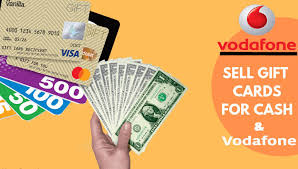 sell vanilla gift card for vodafone in