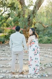organic fl inspired spring enement session at arlington gardens pasadena by wedding photographer madison ellis