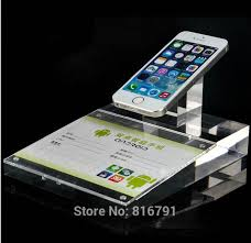 Cell Phone Display Stands Wholesale Good Looking Acrylic Cell Mobile Phone Display Standin 100