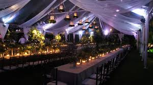wedding tent lighting ideas. You Can Augment The Candlelight With Tent Wash Lights On Sides And Candelabras In Middle, But Do Pure Candle Light If Want. Wedding Lighting Ideas A