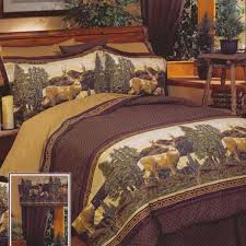 deer mountain bedding collection cabin