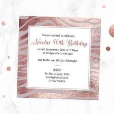 Birthday Invitation Party 40th Birthday Party Invitations