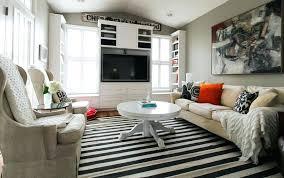 black white striped rug black and white striped floor runner