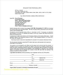 Microsoft Word Request For Proposal Template   Cvfree.pro