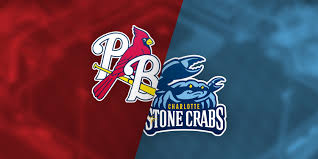 Palm Beach Cardinals Vs Charlotte Stone Crabs Roger Dean