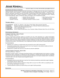 It Support Resume 4 Cio Examples Example Of A Job Specialist