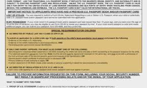 Passport Renewal Application Form Custom Learn How To Fill The Form DS 48 US Passport Renewal Application