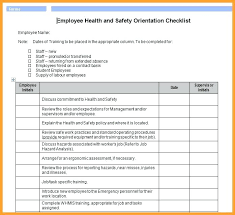 Sample Orientation Checklist For New Employee Employee Orientation Checklist Template New Employee Orientation