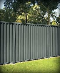 Corrugated Metal Privacy Fence Sheet Construction Diy ubceacorg
