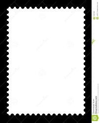 Blank Templates Free A Blank Stamp Template Stock Illustration Illustration Of