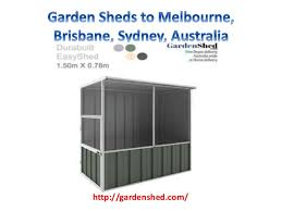 Small Picture Garden Sheds Vic X Single Door Classic On Decor