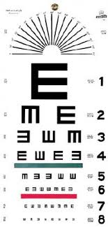 Logmar Snellen Chart Graham Field 1241 Mckesson Medical Surgical