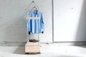 modern clothing rack picture of homemade modern garment rack modern laundry drying rack