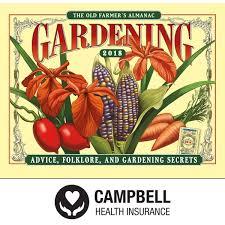 farmers almanac gardening calendar. Interesting Calendar 2018 The Old Farmeru0027s Almanac Gardening Calendar Stapled Inside Farmers D