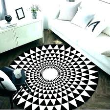 black and white area rug 3 rugs x 5 outdoor striped 8x10 s