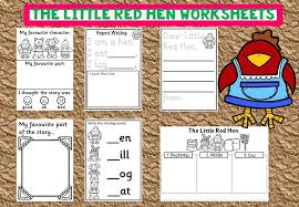 The Little Red Hen Worksheets – Mash.ie