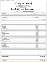 simple profit loss template 7 simple profit and loss template procedure template sample basic