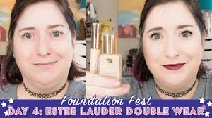 foundation fest estee lauder double wear pale dry skin over 40