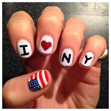 New York Marathon Nail Art - The Runner Beans
