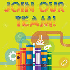 Team Get Together Invitation Handwriting Text Join Our Team Concept Meaning Invitation To