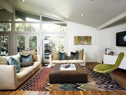 Mid Century Modern Living Room Rugs
