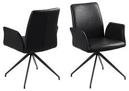 Esszimmerstuhl Nadine Mit Drehfuß Schwarz Esszimmer Stuhl Küchenstuhl Sessel Dynamic 24de