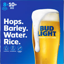 Bud Light Wheat Discontinued Bud Light Beer 8 Pack Beer 16 Fl Oz Bottles Walmart Com