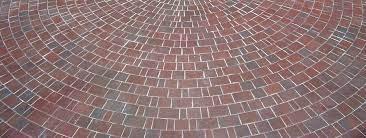 design and build a stone or brick patio